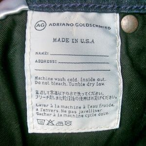 Ag Adriano Goldschmied Jeans - Ag Adriano Goldschmied Jeans Angel Bootcut 25R
